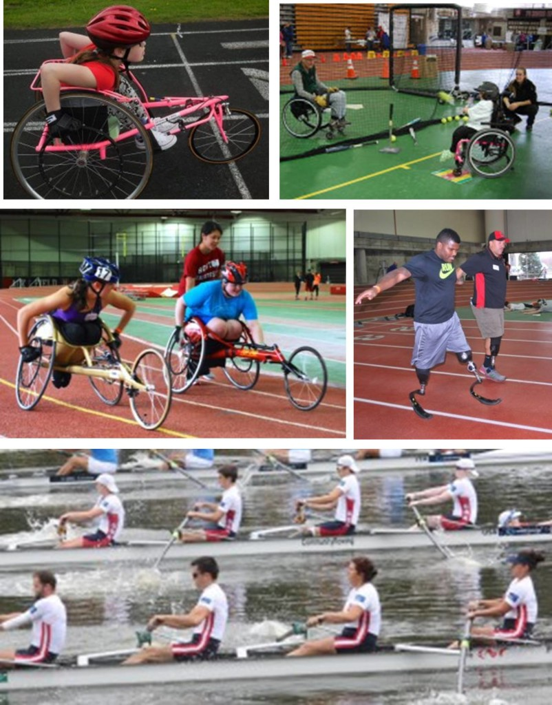 sports paralympic experience collage adaptive summer recreational activities sport youth boston